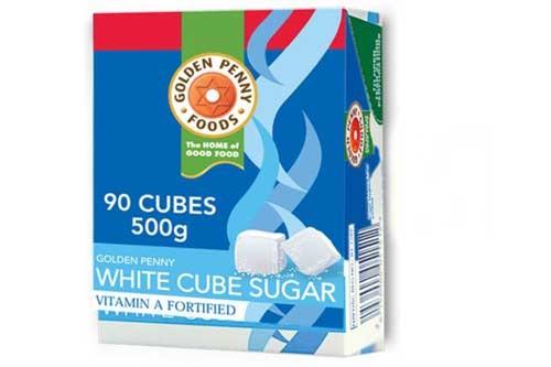 Golden Penny cube sugar