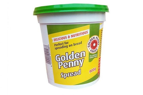 Golden penny spread