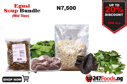 Egusi Soup Bundle - 24Hours Delivery in Lagos