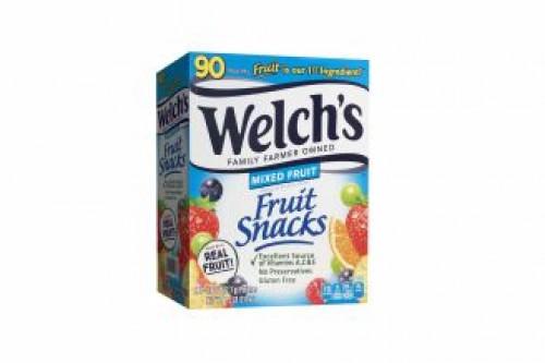 Welch Mixed Fruits Snack 22.7g X90pouchesCarton