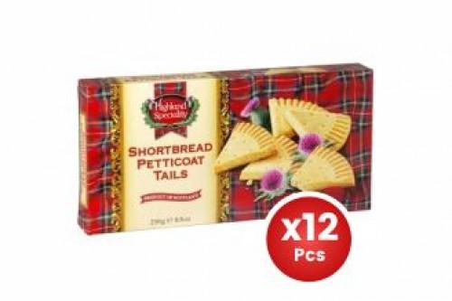 Highland Shortbread Petticoat 250g X12 (Carton)
