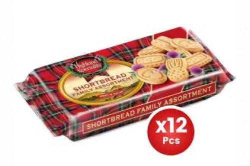 Highland Shortbread Family 300g X12