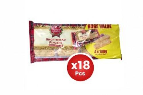 Highland Shortbread 100g 4pcs Pack X18