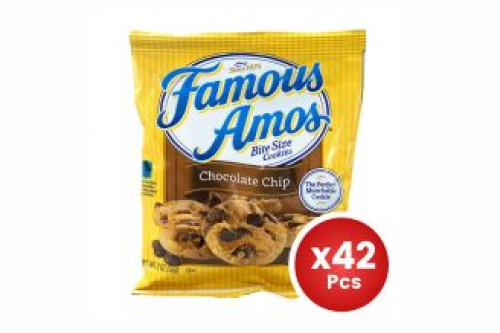Famous Amos Chocolate Chips 56g X42