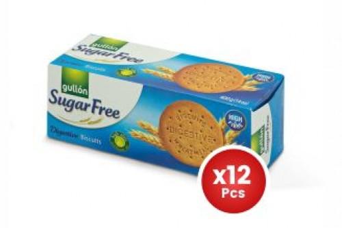 Gullon Sugar Free Digestive Biscuits 245g X12