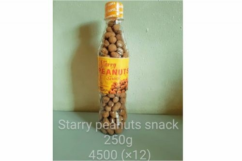 Starry Peanuts Snack